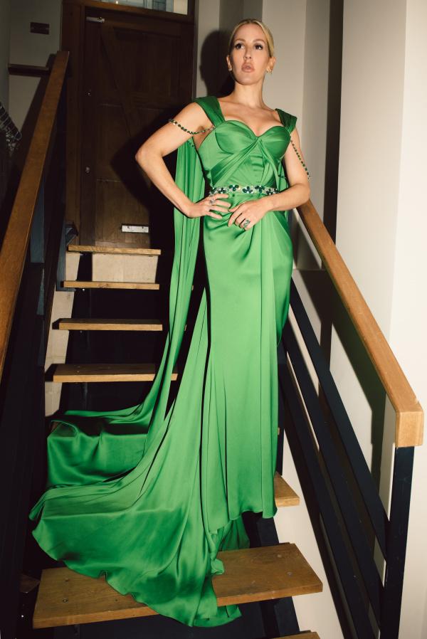 EG Green Dress Retouch Jennifer Mc Cord Edits 2