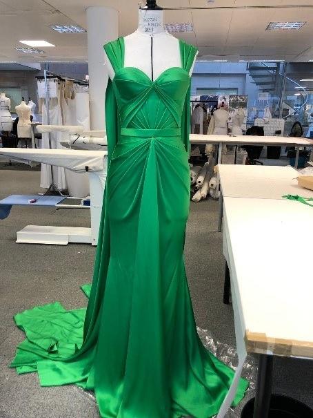 Ralph Russo x Custom Green Look 004